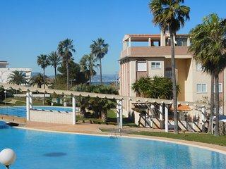Magnífico apartamento para 6 personas en playa, Els Poblets