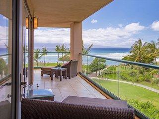 Maui Resort Rentals: Honua Kai Konea 350, 3BR w/ Direct Oceanfront Views + B.B.Q
