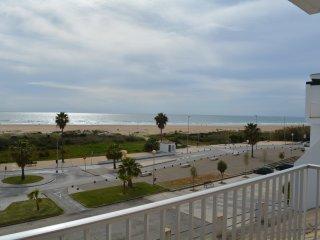 Unas vistas de la playa fantasticas