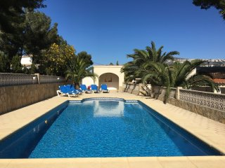 Beautiful large private Villa in La Sabatera Moraira 5 mins walk to shops, bars