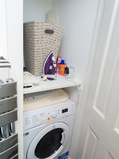 Guests have full access to washing machine/tumble dryer/laundry facilities.