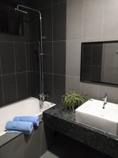 Master bedroom wash room