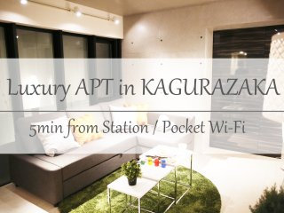 【NEW!】Shinjuku Luxury Cityhouse/Netflix.PS3.FreeWi-Fi.