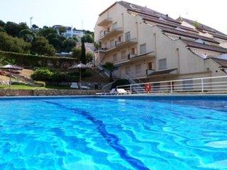 Apartamento para 4 con piscina, Sitges