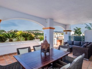 MIRAFLORES LUXURY FRONTLINE GOLF /BEACH APARTMENT *****