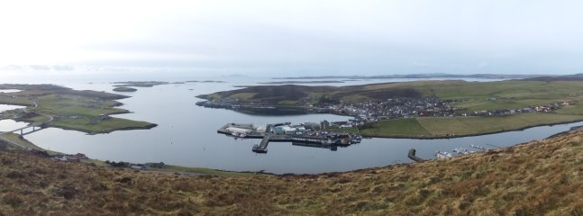 Scalloway and Trondra