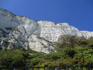 SAME STREET as White Cliffs Walk and Ferries to France!, Dover