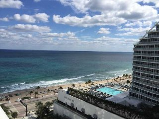 King Suite at the Hilton Fort Lauderdale beach resort
