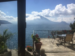 Beautiful Lake Atitlan Villa Nestled in its own 1 Acre Lake Front Private Cove, Santiago Atitlan