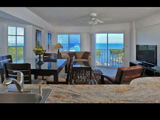 Tropical 2 Bedroom Ocean View Suites (B) - NEW POOL, Dock & Marina - Near all at