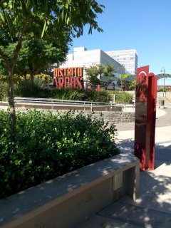 Distrito Arcos- over 60 fashions outlet stores a short walk from the apartment