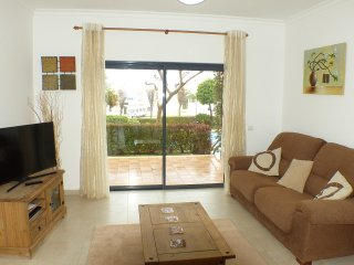 Soft sand apartment is located just minutes walk away from Porto do mos beach