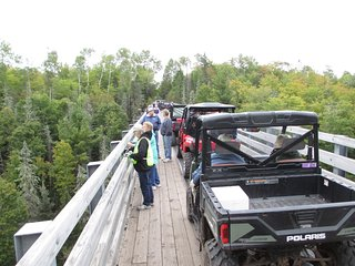 FALL SPECIAL! ATV TRAIL! CISCO CHAIN! WATERFALLS! GAMEROOM! LAKE GOGEBIC! CANOE!