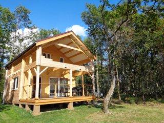 Puy Montaly, maison chalet, calme sans voisin, en pleine nature, etang, peche