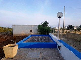 Casa immersa nel verde con piscina
