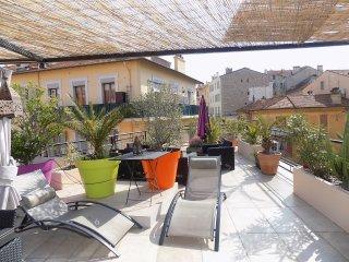 Appartement avec toit terrasse - 4 couchages., Cannes