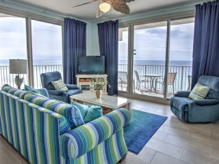 Shores of Panama 1203 corner unit with wrap around balcony