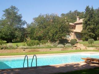 Villa di campagna con piscina e parco, 8 posti letto, Lubriano
