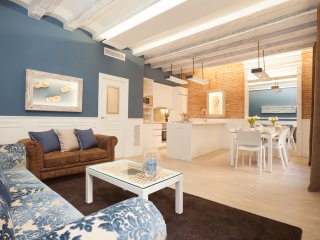 Enjoybcn Colon Apartments- Comfort by Las Ramblas. Communal terrace