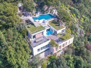 Design Villa two pools near Monte Carlo, Villefranche-sur-Mer