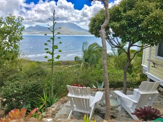 ST KITTS Charming Caribbean Cottage with Amazing Ocean Views, Turtle Beach