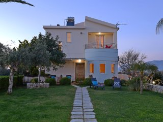 ELIA Seaside Villa, An Amazing Two-Story House in Drapanias, Kissamos