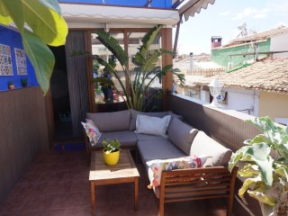 Spacious 1st Floor Duplex with large sunny terrace