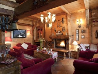 CHALET LES CLARINES. SKI IN SKI OUT