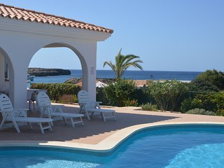 Villa Montse primera línea de mar