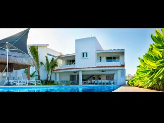 5Bdr. Luxury Caleta House, Puerto Aventuras Riviera Maya