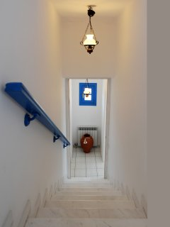 Captain's Home-ART stairs to ground level