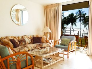 IS406 Affordable Paradise! 1 bd 1 ba, Double Lanai Full Ocean View' Pool, Bbq