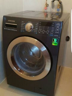 washing machine and dryer combo.