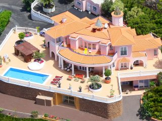 Fabulous Villa & Chalet Great Sea Views Private Heated Pool Cinema Disco Adeje