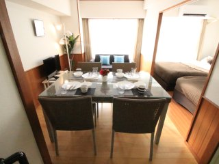 SHINJUKU★Nishi-Shinjuku Station6mins Spacious and Cozy Good for Family and Group