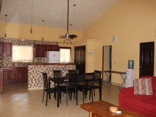 Newly built 2 bedroom 2 bath duplex in Pedasi, on quiet street but close to town