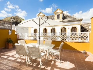 Concordia Terrace. Top-floor apartment with private terrace, Sevilla