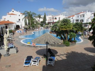 Fairways Club One bedroom apartment overlooking heated pool with terrace