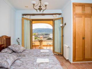 Casa Rosa  Bed and Breakfast - Twin Room with Terrace and Mountain View FFB, Alcalali