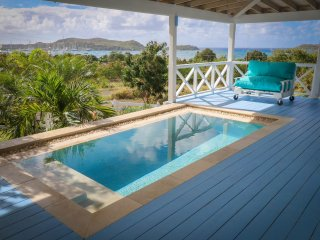 Sea Shanty, fabulous views overlooking Falmouth Harbour, Antigua