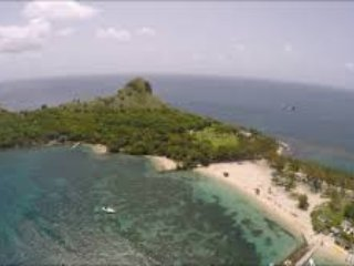 Views Of Pigeon Island Beach 5 mins from Villa