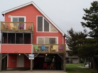 OBX Nags Head Ocean Views ~ NOV 8 & 14 SPECIALS~2 Minute Walk to Beach