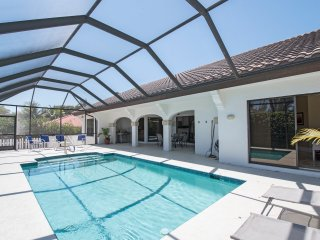 NEW!  Luxury, Spanish Style Home!  Outdoor Living at its Finest!  Walk to Beach!, Marco Island
