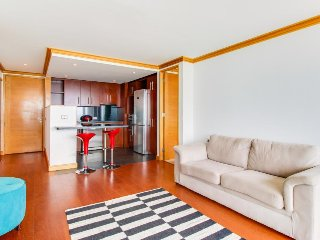 Oceanview, dog-friendly apartment with shared pool, sauna, fitness center!