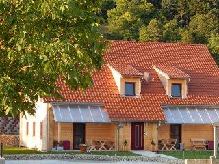 Ferienwohnung mit 73 m2 im Holzhaus (DTV*****)