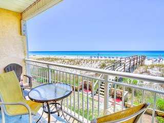 Island Sands 206 - 1BR -*Real Joy Fun Pass -Gulf Front Okaloosa - Pool