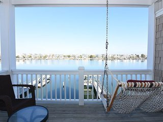 The Breeze -  Comfortable sound front duplex on Banks Channel with boat dock
