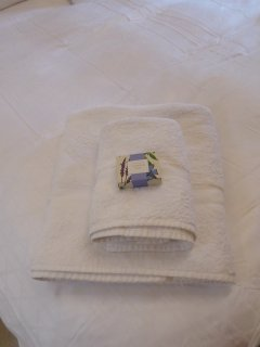 linen and towels provided