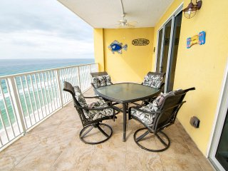 2BR* Tropic Winds 1104-OPEN 9/18-9/25-Gulf FRONT Master! Huge Balcony- FunPass
