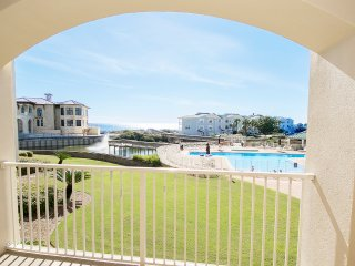 Pool & Gulf Views for 6! Hidden GEM on 30A w/2 Bikes-San Remo 205